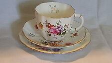 Royal Crown Derby vintage Art Deco antique Derby Posies cup saucer plate trio