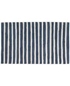 $50.00 Nourison Brunswick Stripe Accent Rug, Blue