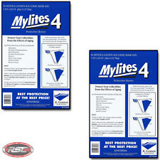 100 - E. GERBER MYLITES 4 SILVER & GOLDEN AGE Mylar Comic Bags Sleeves 775M4