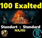 100 x Exalted Orb - STANDARD League Softcore Path of Exile PoE 100 ex UK/NA/EU