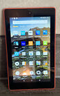 Amazon Fire 7th Generation Tablet Red 8gb. Full Working Order. No Reserve!!