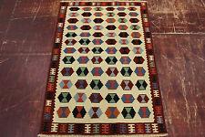 nomades Kelim très bien pièce unique PERSAN TAPIS tapis d'Orient 1,45 X 1,00