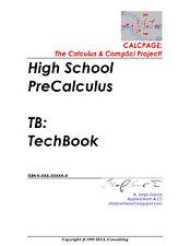 USB Stick! 2000 Files! 12 GB! High School preCalculus TI84C + SAGE CAS TechBook