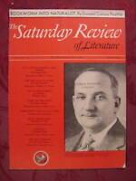 Saturday Review July 5 1941 DOUGLAS MILLER DONALD CULROSS PEATTIE ++