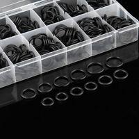 225x Kit de Surtido Juntas tóricas de goma negra para juntas tóricas para co*ws