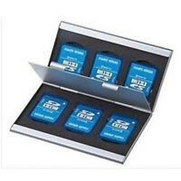 Case Cover Card  Holder Micro  Memory Card  Protecter Aluminum Alloy Box