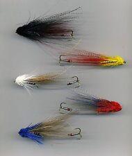 Sea Trout Flies: NEW  Wake Flies: Jambos x 5 size 8 treble  (code 530)