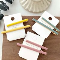 Color Girl Long Acrylic Women Hair Accessories Barrettes Duckbill Clip Hairpins
