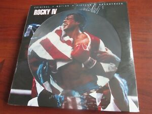 Rocky IV [4] (OST) [Limited Picture Disc VINYL LP RECORD] NEW AND SEALED