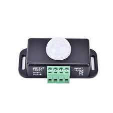 Automatischer DC 12V 24V 8A Infrarot PIR Bewegungs Sensor Schalter Für LED Licht