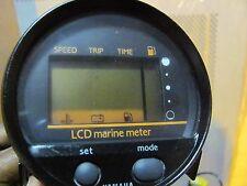 OEM YAMAHA LCD MARINE MULTI METER Speed Trip Time Fuel Multi meter