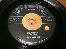 THE RAMROCKS - HUMOROCK - THE GREAT PRETENDER  / LISTEN - RNB POPCORN