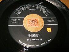 THE RAMROCKS - HUMOROCK - THE GREAT PRETENDER  / LISTEN - RNB POPCORN