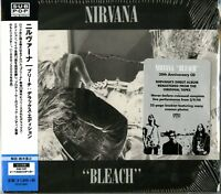 NIRVANA-BLEACH-JAPAN CD Ltd/Ed D73
