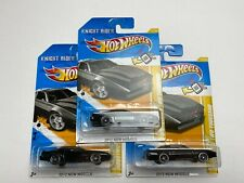 HOT WHEELS 2012 K.I.T.T. KNIGHT INDUSTRIES TWO THOUSAND NEW MODELS 17/50