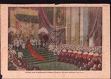 Pope Pius X Papa Pio X Pape Pie X Roma Rome Cardinal Red Hat 1911 ILLUSTRATION