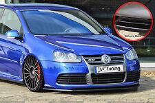 Spoilerschwert Frontspoiler Lippe aus ABS für VW Golf 5 R32 ABE schwarz glänzend