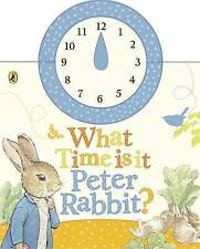 What Time is it, Peter Rabbit? by Beatrix Potter- Tell the Time Board Book