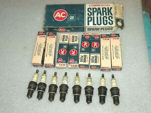 AC C43N Commercial Spark Plugs 396 409 427 Big Block  NOS GM
