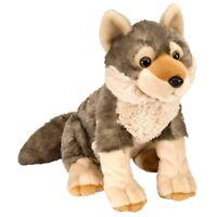 "12"" Wolf Soft Toy Animal - Wild Republic Cuddlekins 30cm Europe"