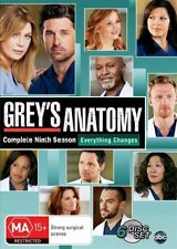 Grey's Anatomy : Season 9 (DVD, 2013, 6-Disc Set)