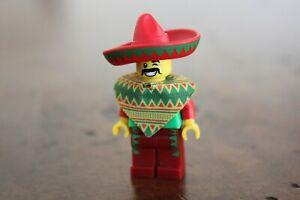 1x LEGO Minifig Mini Figure Mexican Man Sombrero Like NEW