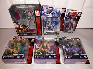 Transformers POTP Terrorcons Abominus Combiner ALL NEW! Sinnertwin Cutthroat +
