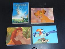 Lion King 1994 Series 1 Skybox Trading Card Set of 90 NM/M Condition Walt Disney