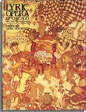 Lyric Opera of Chicago Program - 1984 - Strauss's Die Frau Ohne Schatten!