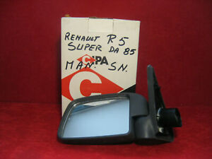 specchio laterale sinistro Renault R5 dal 1985