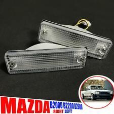 Bumper Lamp Turn Signal Lights Pair For Mazda B Series B2000 B2200 B2600 85-98