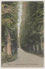 Denmark postcard - Alle i Frederiksborg Slotshave