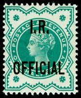 SGO17, ½d blue-green, UNMOUNTED MINT. Cat £20+