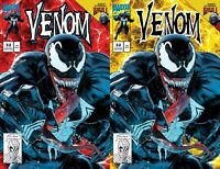 VENOM #32 Mike Mayhew Studio Variant Trade Dress & Virgin Cover Raw Set