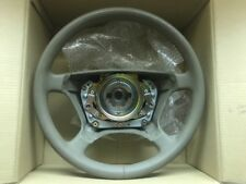 MERCEDES-BENZ S-CLASS Wood Steering Wheel Gray Leather NO CRACKS, BEAUTIFUL!!