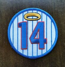 New Chicago Cubs Ernie Banks Mr. Cub #14 Halo Commemorative 3 inch Iron on Patch