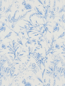 Ralph Lauren Fern Toile Wallpaper Bluebell PRL710/02