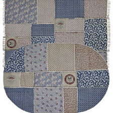 Patchwork Oval Area Rugs