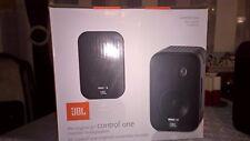 JBL Control One Kompakt-Lautsprecher 1 Paar in Schwarz - neu und OVP