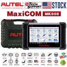 Autel MaxiCOM MK808 as MK808BT Auto Diagnostic Tool OBD2 Scanner Key Programming