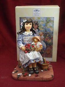 Strawberry Fayre - Paint Box Poppets by Christine Haworth - Leonardo - Boxed