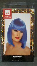 Fancy Dress Blue Wig