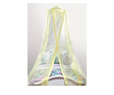 Mainstays Kids Satin Trim Bed Canopy Yellow - New