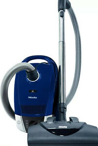 Miele Compact C2 Electro+ PowerLine SDCE0 Electro Canister Vacuum - Marine Blue