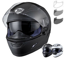 THH TS-80 Plain Full Face Motorcycle Inner Sun Visor Helmet Tinted Visor Kit