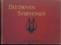 Beethoven ~ Symphonien ~ Klavier 4-händig gebunden
