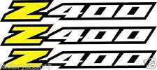 LTZ400 Yellow Fender Graphic Plastic Decal Sticker Ltz 400 Z400 Suzuki Wheel Rim