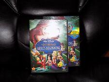 The Little Mermaid - Ariel's Beginning (DVD, 2008) EUC FREE USA SHIPPING