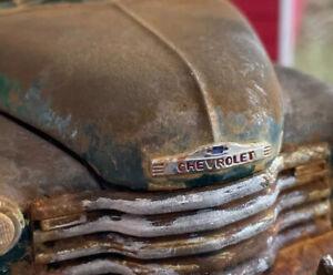 Barn Find Cars - Model Art: Danbury Mint 1:24 1953 Chevrolet Pickup - Rusted