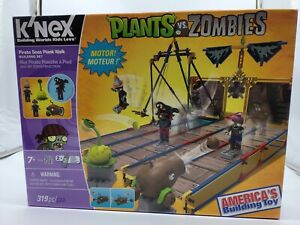 Plants Vs Zombie Pirate Seas Plank Walk Knex NEW OPEN
